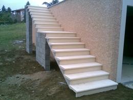 Charmant Escaliers En Pierre Reconstituée, Escaliers En Béton Ou Escaliers  Pré Fabriqués, Granito,